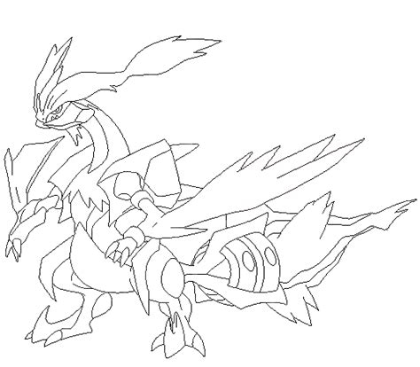 pokemon coloring pages kyurem kyurem coloring pages of pokemon mach images pokemon