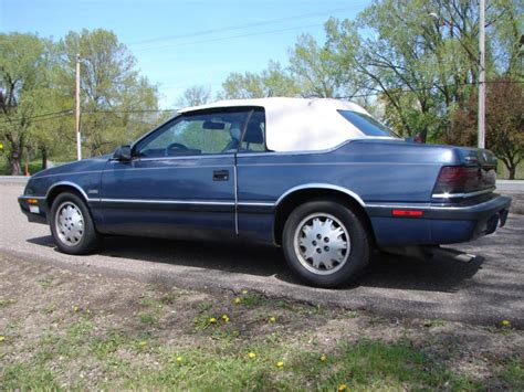 1988 Chrysler Lebaron by 1988 Chrysler Lebaron Information And Photos Momentcar