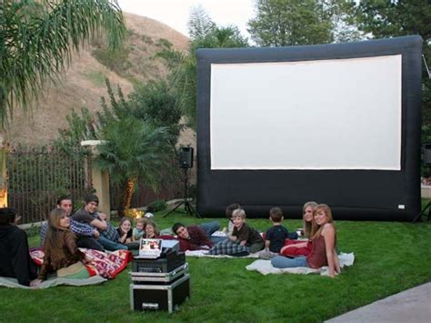 90 best backyard theater ideas images on