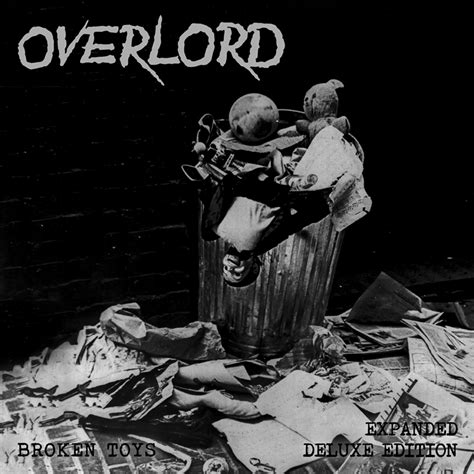 Sepatu Oiriginal Blackmaster High Hardrock overlord broken toys expanded edition lp black vinyl 183 nw metalworx 183 store