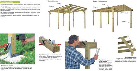carport mit montage comment monter abri de jardin et carport gamm vert