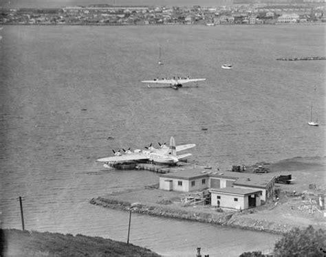 flying boat nz flying boats wellington places te ara encyclopedia of