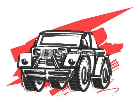 jeep vector abstract retro jeep vector royalty free stock image