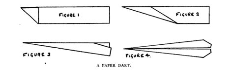 How To Make Paper Darts - did fly paper airplanes before real airplanes were