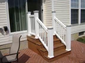 Trex Stair Railing by Trex Steps Www Timbertech Com Backyard Pinterest