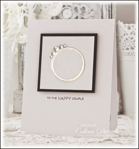 Wedding Card Ideas by 25 Best Ideas About Engagement Cards On