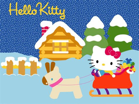 hello kitty christmas wallpaper free hello kitty christmas wallpapers free hello kitty