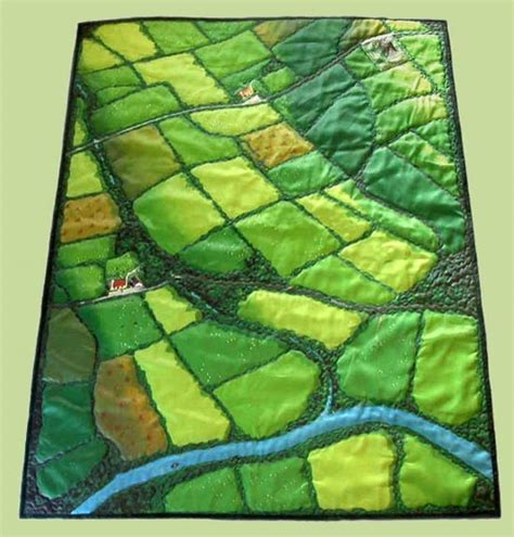 Patchwork Fabric Ireland - the quilt