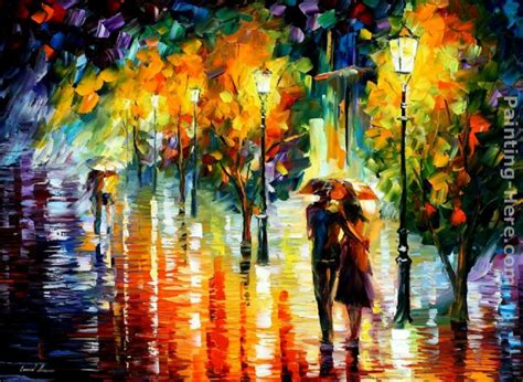 Two Couples Leonid Afremov Two Couples Painting Anysize 50 Two