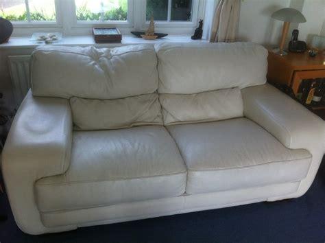 White Leather Furniture Restoration Berkshire Hshire