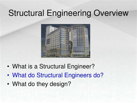 Design Engineer What Do They Do | ppt introduction to structural engineering powerpoint