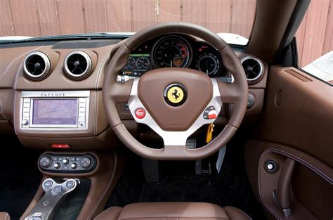 ferrari california   interior autocar