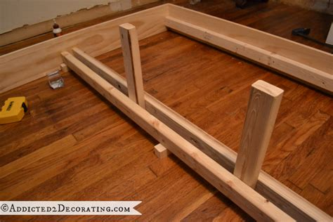 Diy Wooden Bed Frame Diy Reclaimed Wood Platform Bed Discover Woodworking Projects