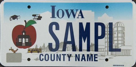 iowa license plates for sale and trade and display at