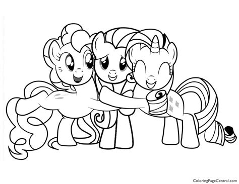 My Little Pony Coloring Pages Friendship Is Magic Fluttershy My Pony Friendship Coloring Pages