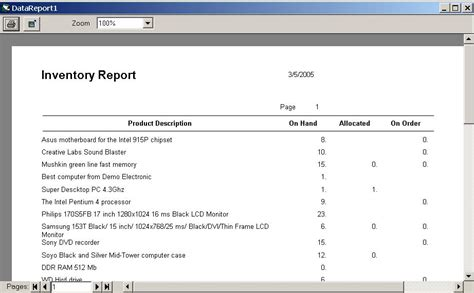 inventory management reports sle inventory management software
