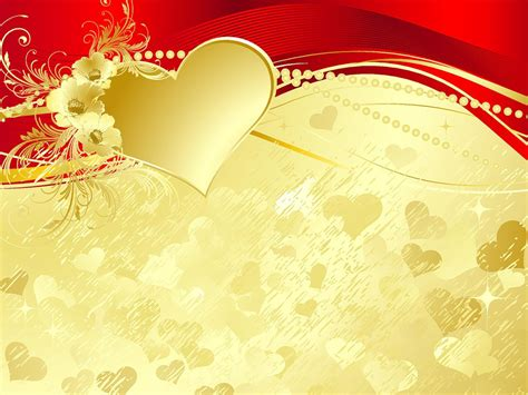 heart design for powerpoint free golden weddings ceremony backgrounds for powerpoint