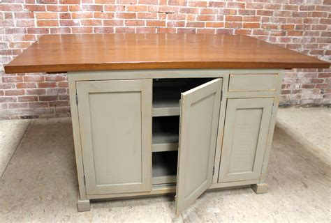 Kitchen Islands With Drop Leaf by Barn Wood Kitchen Island Ecustomfinishes
