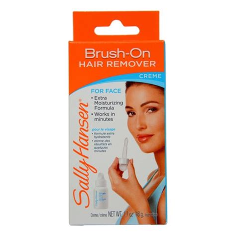 sally hansen brush on hair sally hansen brush on hair remover creme jet