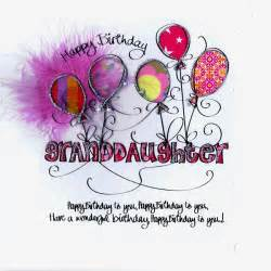 card relation happy birthday granddaughter