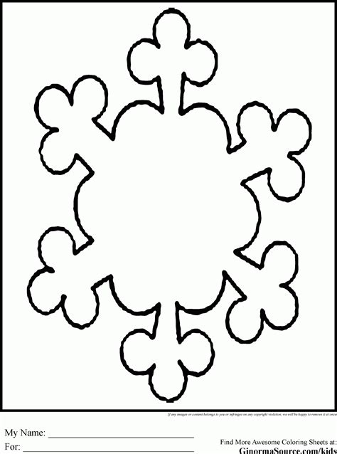 snowflake coloring pages pdf coloring page snowflake az coloring pages