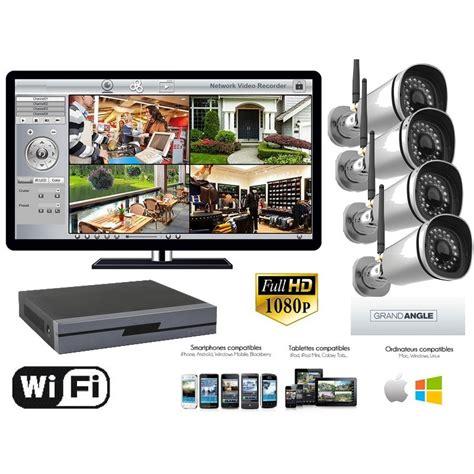 wifi surveillance kit surveillance exterieur wifi 2 megapixels 1080p 4