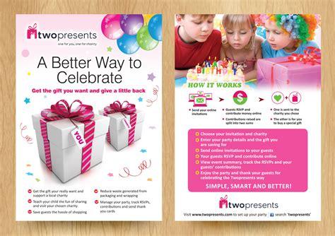 gift flyer modern upmarket flyer design for shirin staerkle by