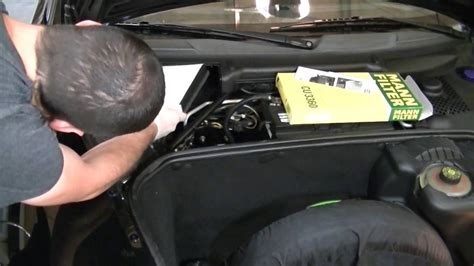 small engine repair training 1998 porsche boxster interior lighting replacing the cabin air filter on a porsche boxster youtube