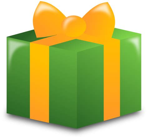 Clipart Presents wrapped present clip at clker vector clip royalty free domain