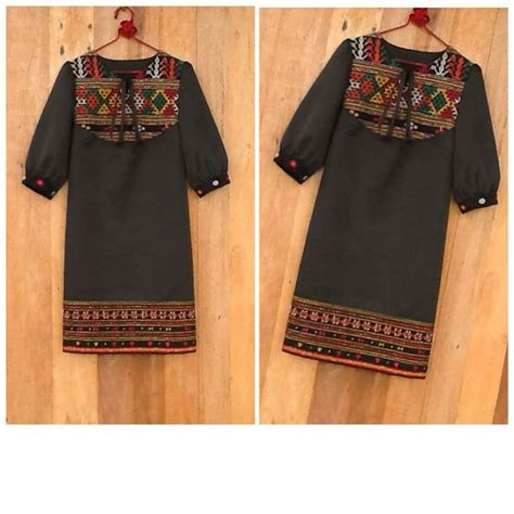 Baju Kemeja Top Atasan Dress Murah Tunix Blouse Bhn Spandex R 34 best images about tenun ikat on dress sketches and blazers