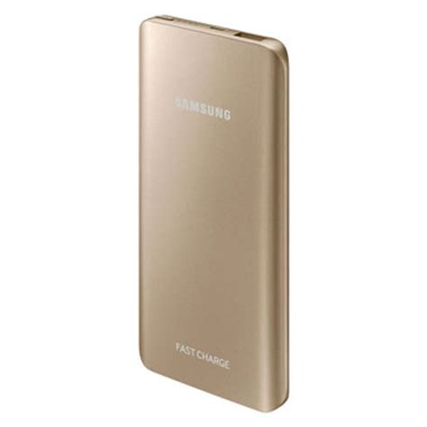 Power Bank Samsung Lucu samsung portable 5 200mah fast charge battery pack gold