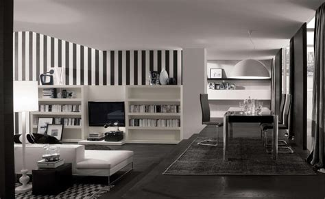 black and white home interior how to decorate in black and white