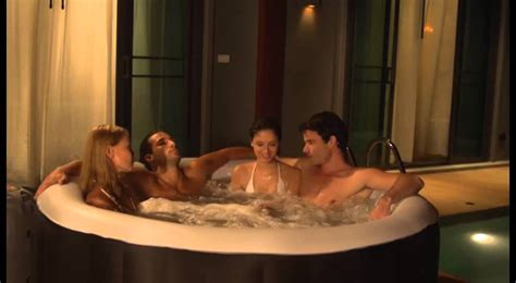 couples in bathtubs lay z spa miami inflatable hot tub 2 4 person