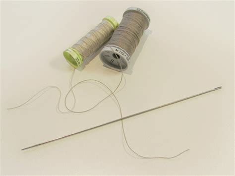 upholstery thread and needle button jointing for beginners funky friends factory