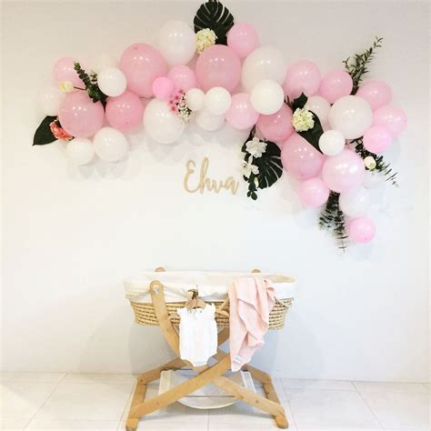 Balloon Arch Baby Shower by Balloon Arch Baby Shower Baby Blessing Baby Shower
