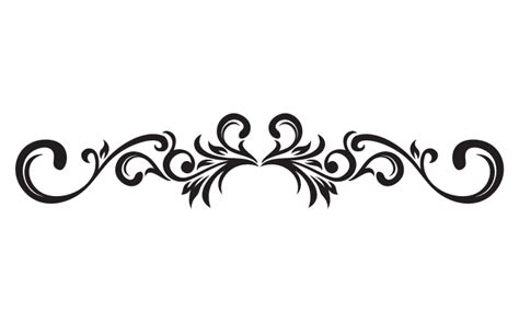fancy pattern png curve clipart fancy scroll pencil and in color curve