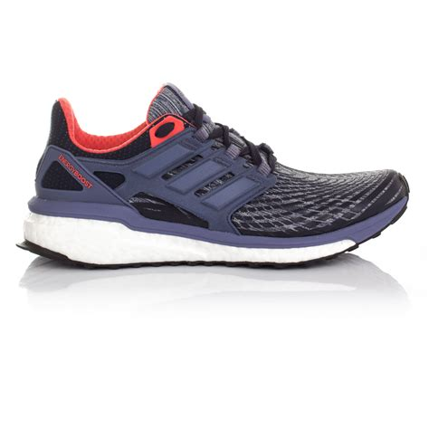 adidas energy boost womens purple running sports shoes