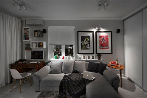 bachelor home decorating ideas small bachelor pad idea designed in a modern retro style