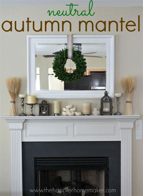 17 best images about fall mantel inspiration on