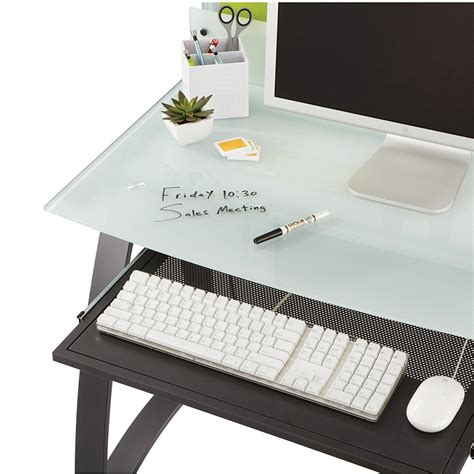 desk keyboard tray amazon safco products xpressions keyboard tray 1940bl amazon