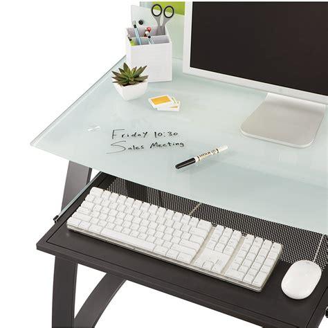 desk keyboard tray amazon safco products xpressions keyboard tray 1940bl amazon