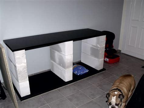 fabrication meuble en siporex