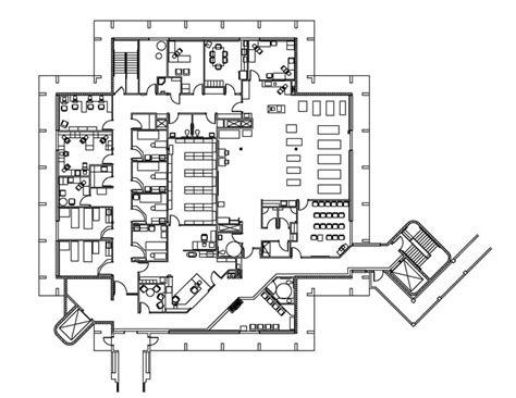 General Hospital Floor Plan by Fremont Rideout Hospital Healthcare Interior Design