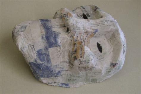How To Make A Paper Mache Nose - neil fraser news mask