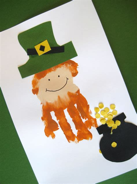 leprechaun crafts for st s day crafts cool images
