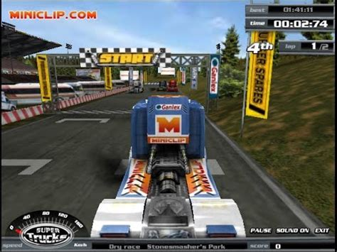truck racing free play miniclip play truck racing
