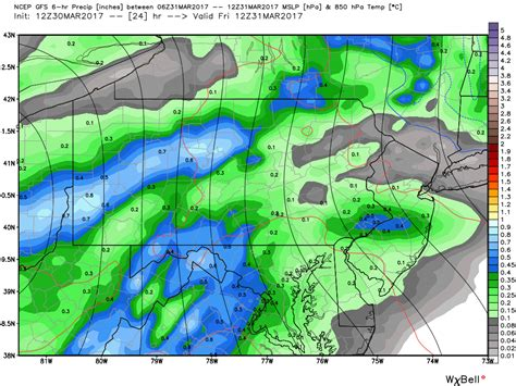significant rainfall expected friday flooding possible