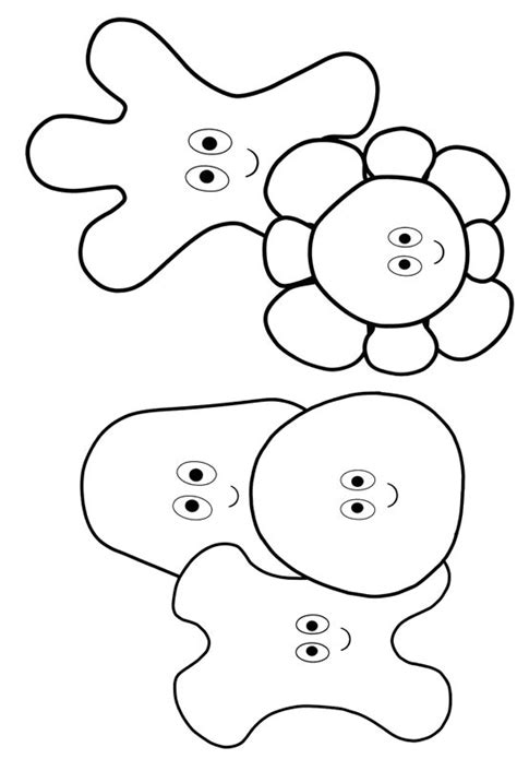 free coloring pages of in in the night garden