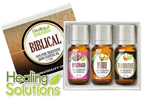 Healing Solutions Essential Feminity Set Is 6 Made In Usa 1 biblical set 100 therapeutic grade aromatherapy essential gift myrrh frankincense