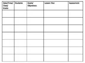 lesson plan template special education lesson plan template for sp by webb teachers